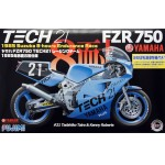 Yamaha Fzr750 Tech21 Racing Team Suzuka 1985 1/12 Мотоциклы 1/12