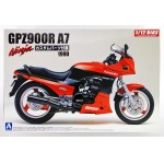 Kawasaki Gpz900r Ninja A7 Type W/ Custom Parts 1/12 Мотоциклы 1/12