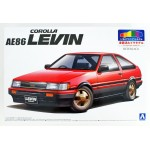 Toyota AE86 Levin 1983 Red/Black