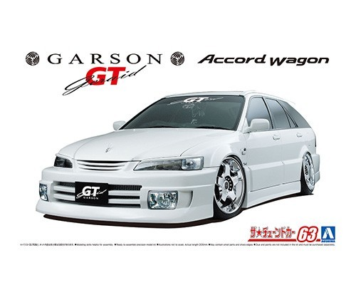 Garson Geraid GT CF6 Accord Wagon `97 Гражданские авто