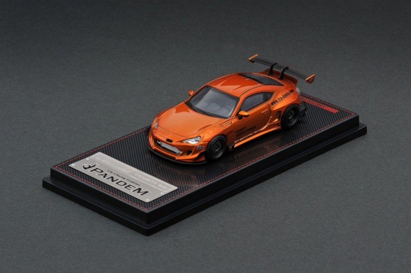 Toyota GT86 PANDEM V3 Orange Metallic