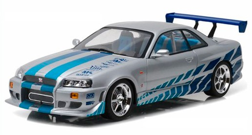 Nissan Skyline R34 from 2 Fast 2 Furious...