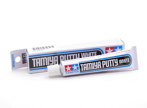 Tamiya Putty (Basic Type) шпаклевка белая 32 гр. Химия для покраски