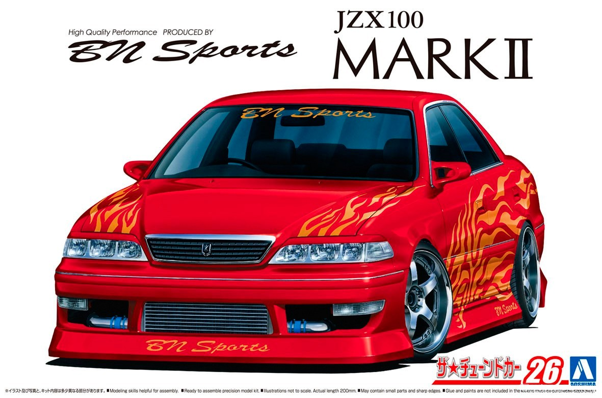 Toyota JZX 100 Mark II Tourer V '98 в обвесе BN Sports Гражданские авто